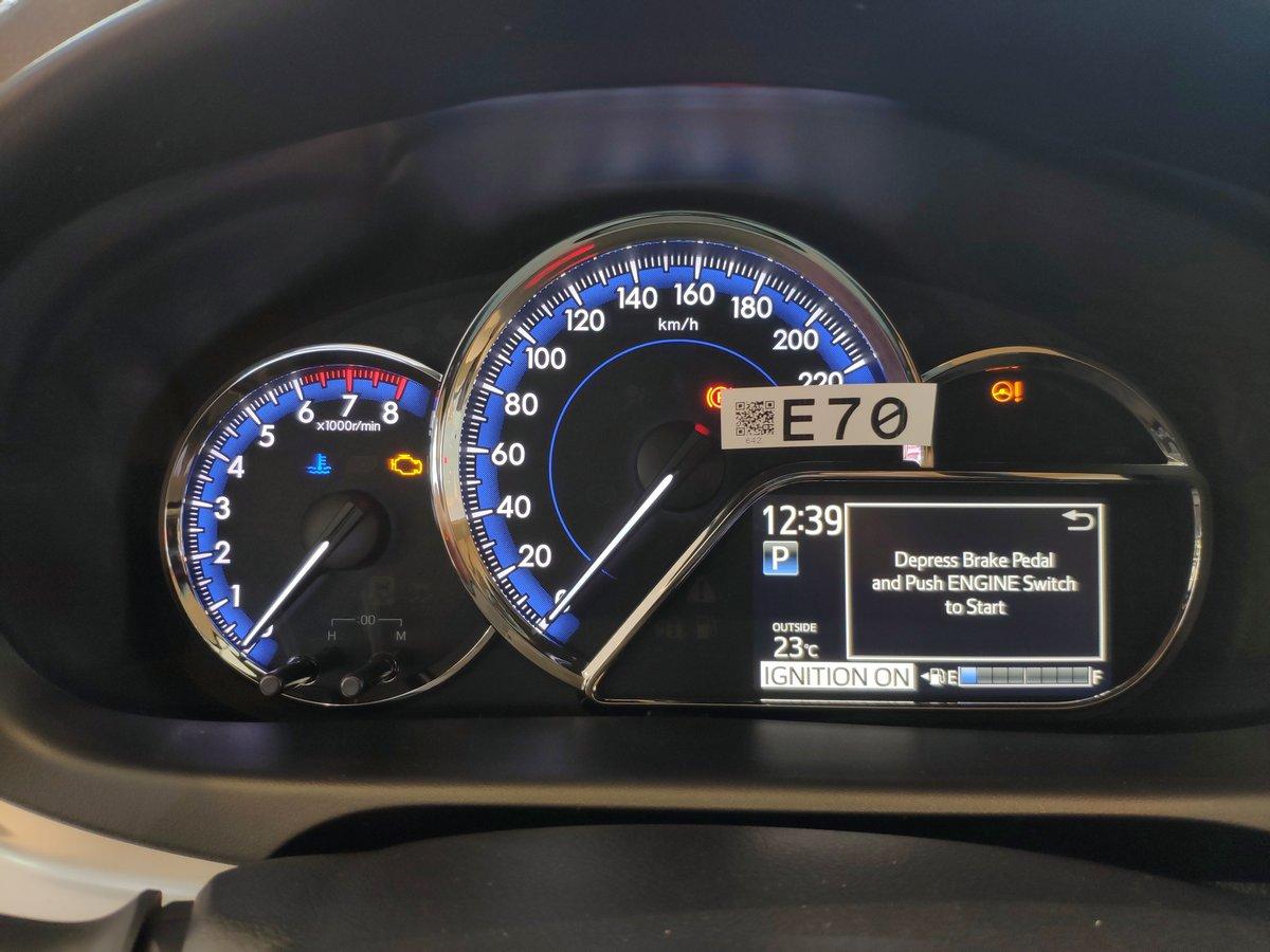 Bảng đồng hồ Toyota Vios 2021